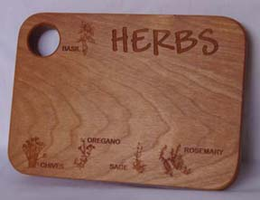HERB CUTTING BOARD 5