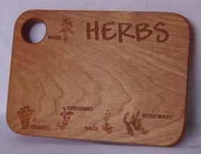 HERB CUTTING BOARD 5