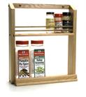 Single shelf rack